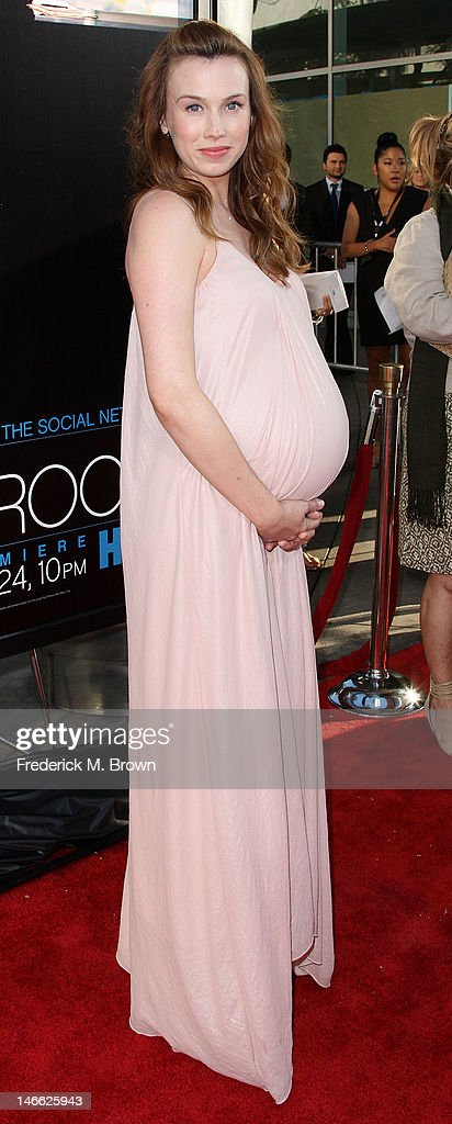 Actress Wynn Everett attends the Premiere Of HBO's 'The Newsroom' at the ArcLight Cinemas Cinerama Dome on June 20, 2012 in Hollywood, California.