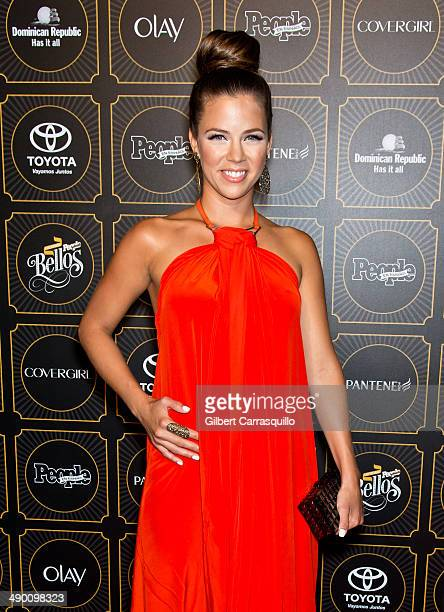 Actress Ximena Duque attends People En Espanol 2014 Los 50 Mas Bellos at Capitale on May 12 2014 in New York City