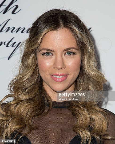 Actress Ximena Duque attends Soap Opera Digest Celebrates 40th Anniversary at The Argyle on February 24 2016 in Hollywood California