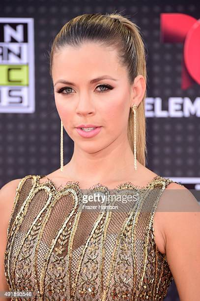 Actress Ximena Duque attends Telemundo's Latin American Music Awards at the Dolby Theatre on October 8 2015 in Hollywood California