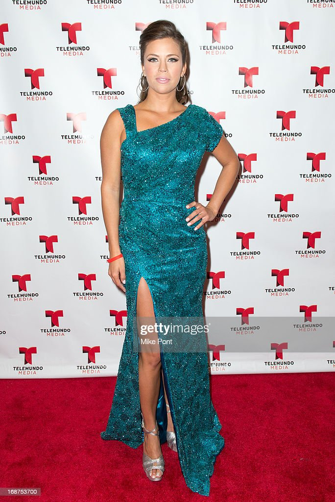 Actress Ximena Duque attends the 2013 Telemundo Upfront at Frederick P. Rose Hall, Jazz at Lincoln Center on May 14, 2013 in New York City.