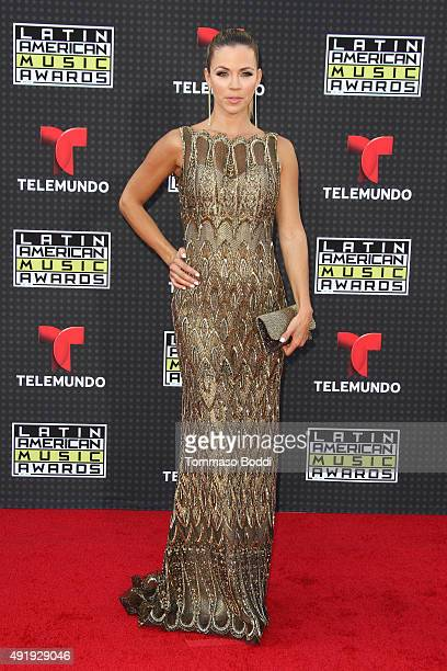 Actress Ximena Duque attends the Telemundo's Latin American Music Awards 2015 held at Dolby Theatre on October 8 2015 in Hollywood California