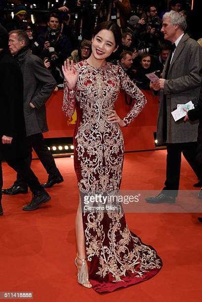 Actress Xin Zhi Lei attends the closing ceremony of the 66th Berlinale International Film Festival on February 20 2016 in Berlin Germany