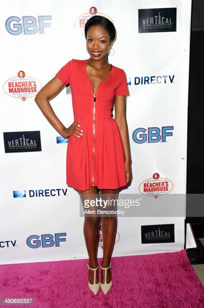 Actress Xosha Roquemore arrives at the Los Angeles premiere of 'GBF' at Chinese 6 Theater in Hollywood on November 19 2013 in Hollywood California