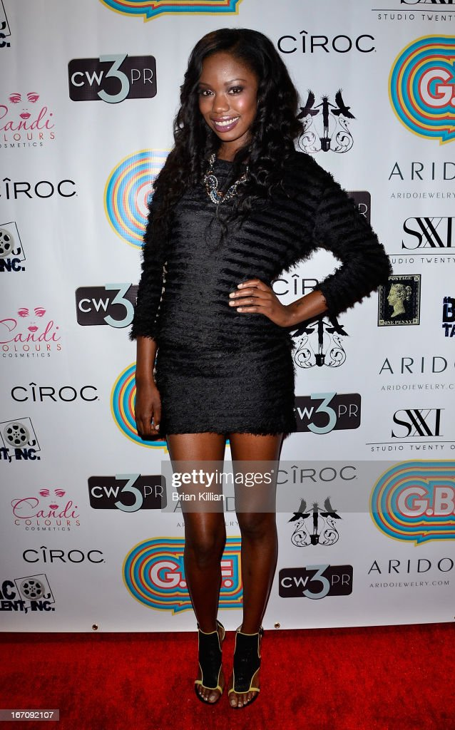 Actress Xosha Roquemore attends the screening of 'G.B.F.' during the 2013 Tribeca Film Festival at Studio XXI on April 19, 2013 in New York City.