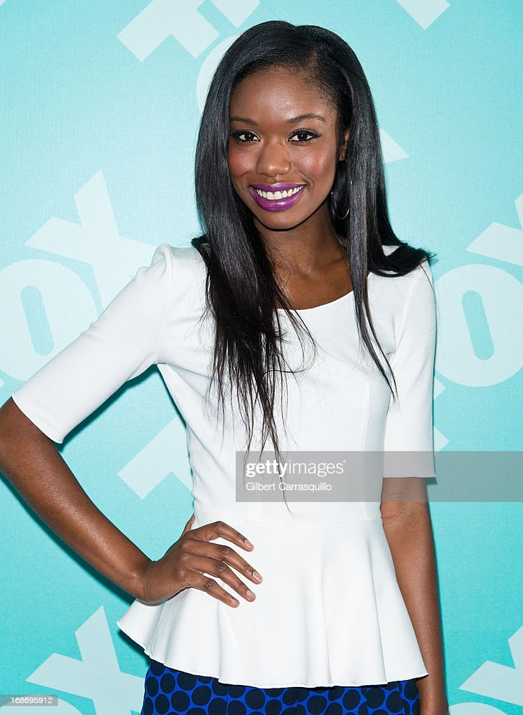 Actress Xosha Roquemore of 'The Mindy Project' attends the FOX 2103 Programming Presentation Post-Party at Wollman Rink - Central Park on May 13, 2013 in New York City.