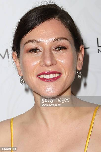 Actress Yael Stone arrives at the Entertainment Weekly celebration honoring nominees for The Screen Actors Guild Awards at the Chateau Marmont on...