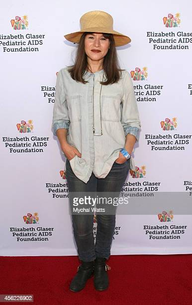 Actress Yael Stone attends Elizabeth Glaser Pediatric AIDS Foundation's 'Kids 4 Kid' Family Festival at Chelsea Piers Field House on September 27...