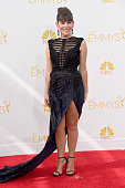 Actress Yael Stone attends the 66th Annual Primetime Emmy Awards held at Nokia Theatre LA Live on August 25 2014 in Los Angeles California