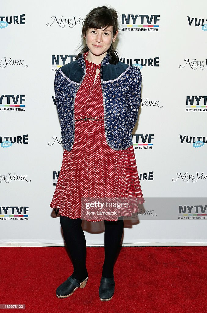 Actress Yael Stone attends the 9th Annual New York Television Festival - Long Day's Journey Into Late Night: The Politics Of Funny at SVA Theater on October 23, 2013 in New York City.