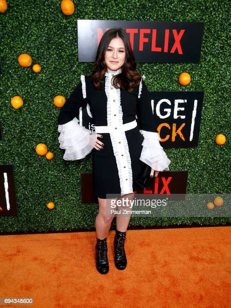 Actress Yael Stone attends the 'Orange Is The New Black' Season 5 Celebration at Catch on June 9 2017 in New York City