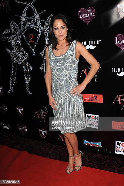 Actress Yancy Butler at the 2nd Annual Artemis Film Festival Red Carpet Opening Night/Awards Presentation held at Ahrya Fine Arts Movie Theater on...