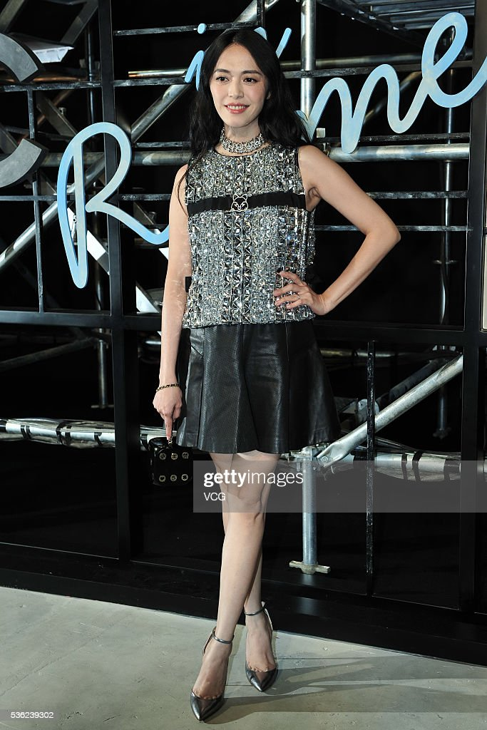 Actress <a gi-track='captionPersonalityLinkClicked' href=/galleries/search?phrase=Yao+Chen&family=editorial&specificpeople=5670477 ng-click='$event.stopPropagation()'>Yao Chen</a> arrives at the red carpet of a press conference of Chanel's 'Paris in Rome 2015/16' Metiers d'Art Show on May 31, 2016 in Beijing, China.