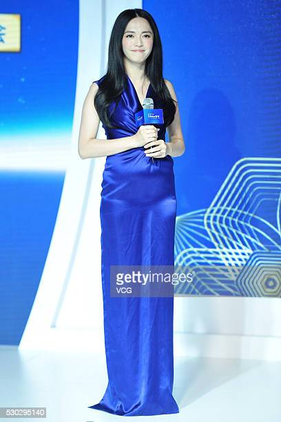 Actress Yao Chen attends Enfinitas activity on May 10 2016 in Beijing China
