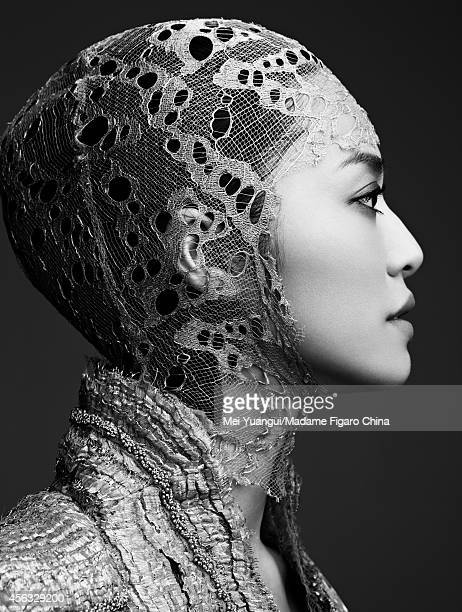 Actress Yao Chen is photographed for Madame Figaro China on March 17 2012 in Beijing China PUBLISHED IMAGE CREDIT MUST READ Mei Yuangui/Madame Figaro...