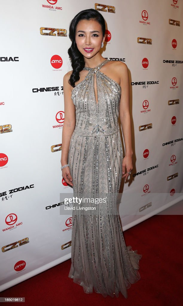 """Premiere Of Wanda And AMC Releasing's """"Chinese Zodiac"""" - Arrivals"""