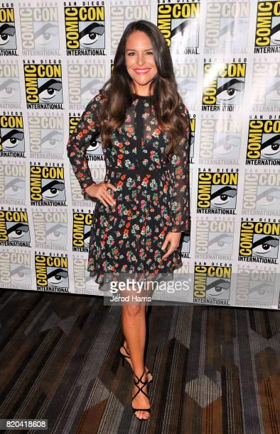 Actress Yara Martinez at 'The Tick' Press Room during ComicCon International 2017 at Hilton Bayfront on July 21 2017 in San Diego California