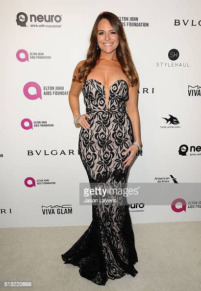 Actress Yara Martinez attends the 24th annual Elton John AIDS Foundation's Oscar viewing party on February 28 2016 in West Hollywood California