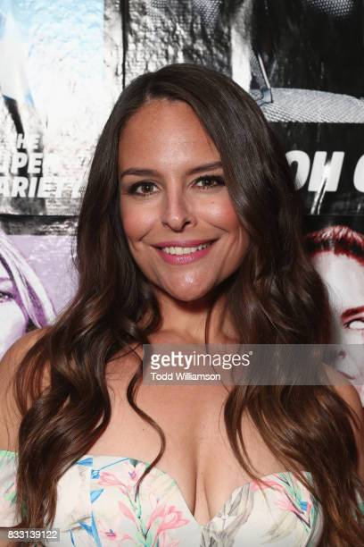 Actress Yara Martinez attends the blue carpet premiere of Amazon Prime Video original series 'The Tick' at Village East Cinema on August 16 2017 in...