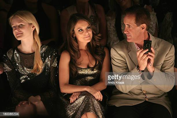 Actress Yara Martinez attends the Joanna Mastroianni fashion show during MercedesBenz Fashion Week Spring 2014 at The Studio at Lincoln Center on...