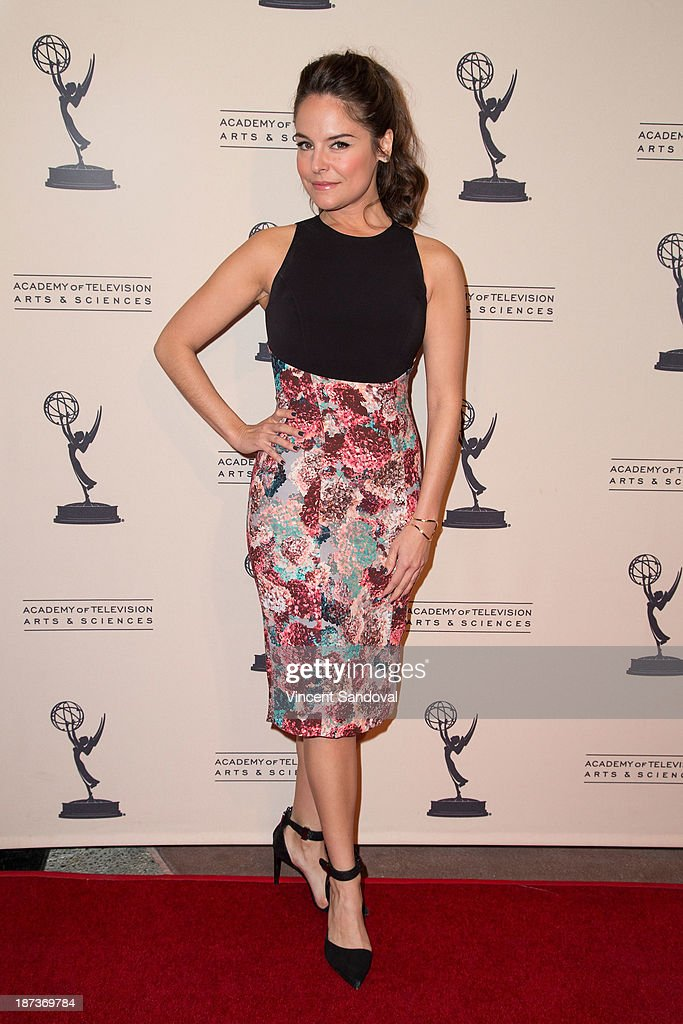 Actress Yara Martinez attends The Television Academy presents Amazon Studios at The Television Academy at Leonard H. Goldenson Theatre on November 7, 2013 in North Hollywood, California.