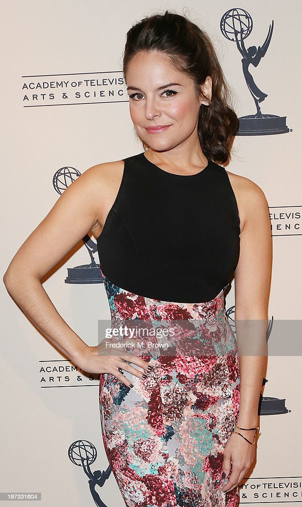 Actress Yara Martinez attends The Television Academy Presents an Evening with Amazon Studios at the Leonard H. Goldenson Theatre on November 7, 2013 in North Hollywood, California.