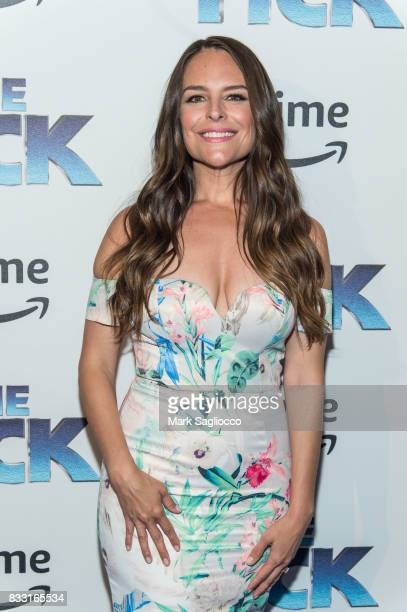 Actress Yara Martinez attends the 'The Tick' Blue Carpet Premiere at Village East Cinema on August 16 2017 in New York City