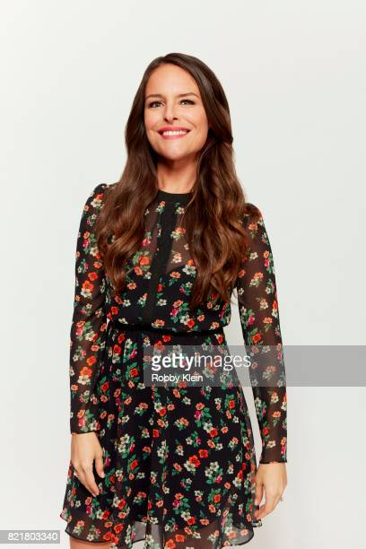 Actress Yara Martinez from Amazon's 'The Tick' poses for a portrait during ComicCon 2017 at Hard Rock Hotel San Diego on July 21 2017 in San Diego...