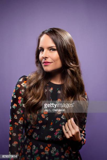 Actress Yara Martinez from the television series 'The Tick' is photographed in the LA Times photo studio at ComicCon 2017 in San Diego CA on July 21...