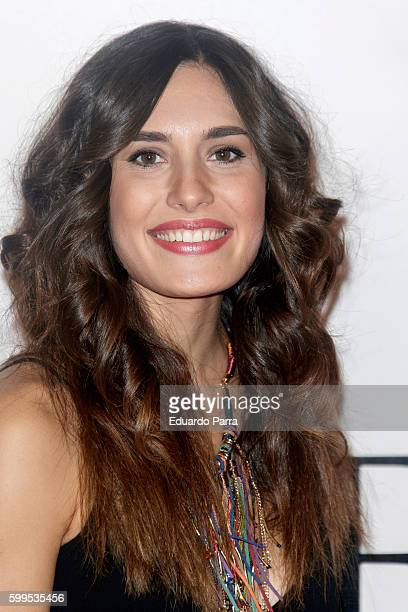 Actress Yara Puebla attends the 'Gernika' premiere at Palafox cinema on September 5 2016 in Madrid Spain