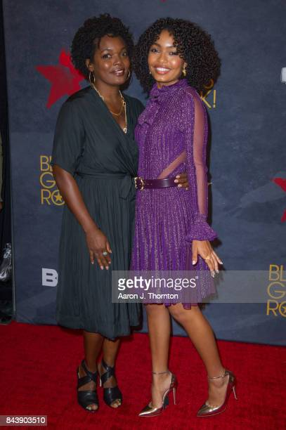 Actress Yara Shahidi and Keri Shahidi attends Black Girls Rock at New Jersey Performing Arts Center on August 5 2017 in Newark New Jersey