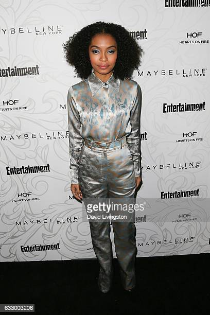 Actress Yara Shahidi arrives at the Entertainment Weekly celebration honoring nominees for The Screen Actors Guild Awards at the Chateau Marmont on...