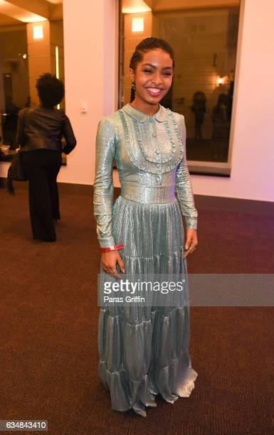 Actress Yara Shahidi attends 48th NAACP Image AwardsAfter Partyat Pasadena Civic Auditorium on February 11 2017 in Pasadena California