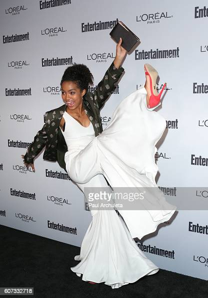 Actress Yara Shahidi attends Entertainment Weekly's 2016 PreEmmy party at Nightingale Plaza on September 16 2016 in Los Angeles California
