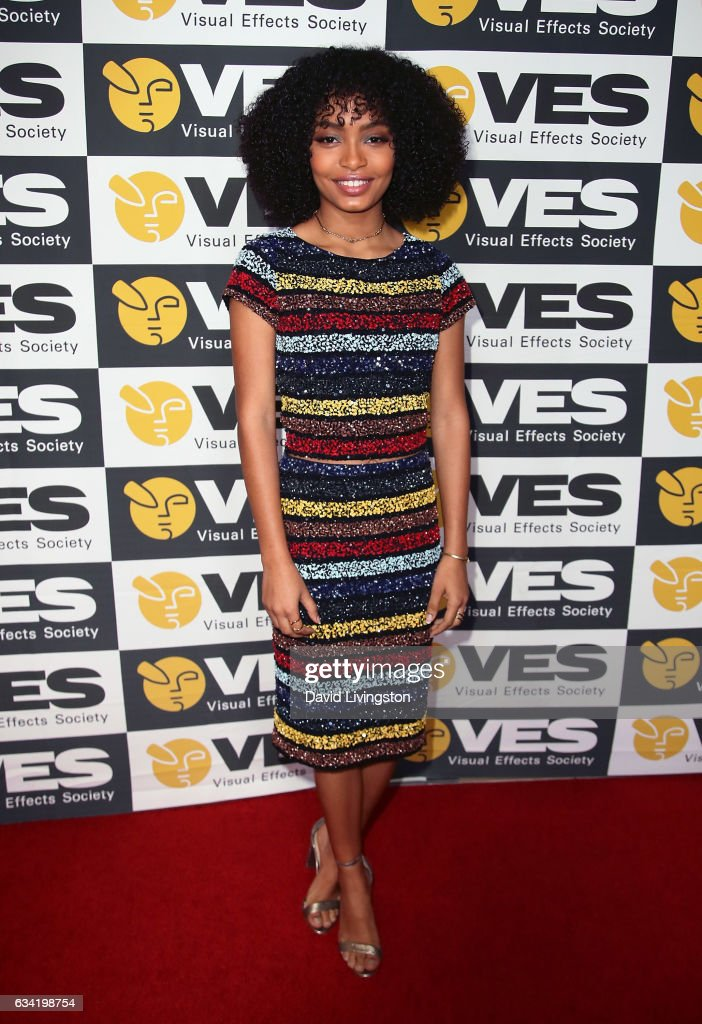 Actress Yara Shahidi attends the 15th Annual Visual Effects Society Awards at The Beverly Hilton Hotel on February 7, 2017 in Beverly Hills, California.