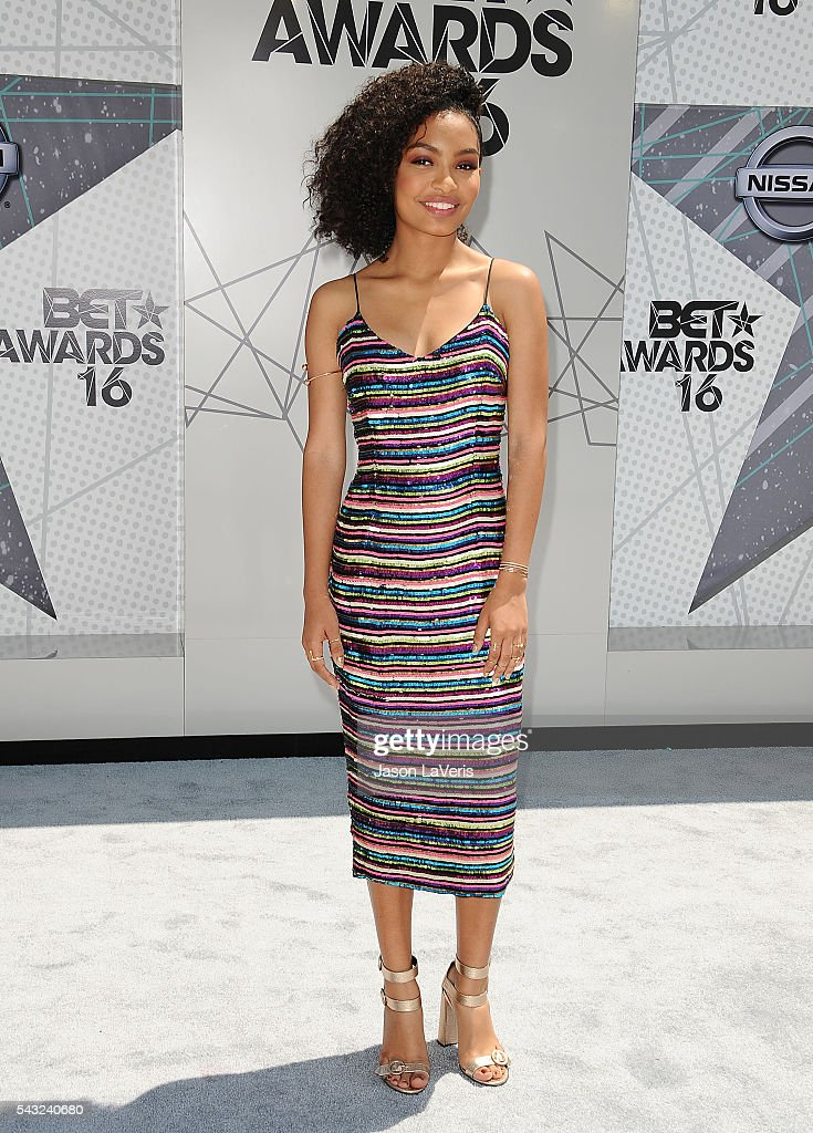 Actress <a gi-track='captionPersonalityLinkClicked' href=/galleries/search?phrase=Yara+Shahidi&family=editorial&specificpeople=4859417 ng-click='$event.stopPropagation()'>Yara Shahidi</a> attends the 2016 BET Awards at Microsoft Theater on June 26, 2016 in Los Angeles, California.