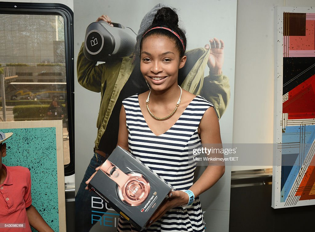 Actress <a gi-track='captionPersonalityLinkClicked' href=/galleries/search?phrase=Yara+Shahidi&family=editorial&specificpeople=4859417 ng-click='$event.stopPropagation()'>Yara Shahidi</a> attends the BETX gifting suite during the 2016 BET Experience on June 25, 2016 in Los Angeles, California.