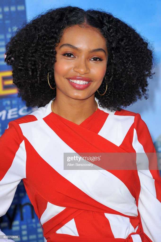 Actress Yara Shahidi attends the premiere of Columbia Pictures' 'Spider-Man: Homecoming' at TCL Chinese Theatre on June 28, 2017 in Hollywood, California.