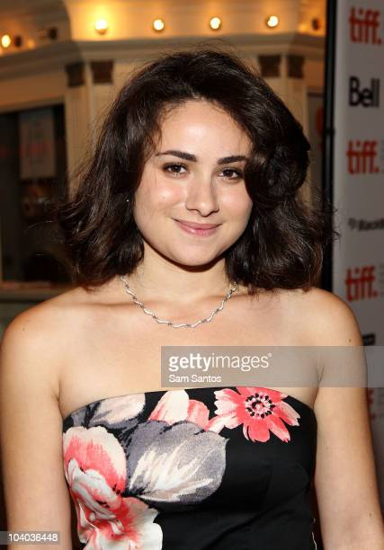 Actress Yasmin Paige attends the 'Submarine' Premiere held at Winter Garden Theatre during the Toronto International Film Festival on September 12...