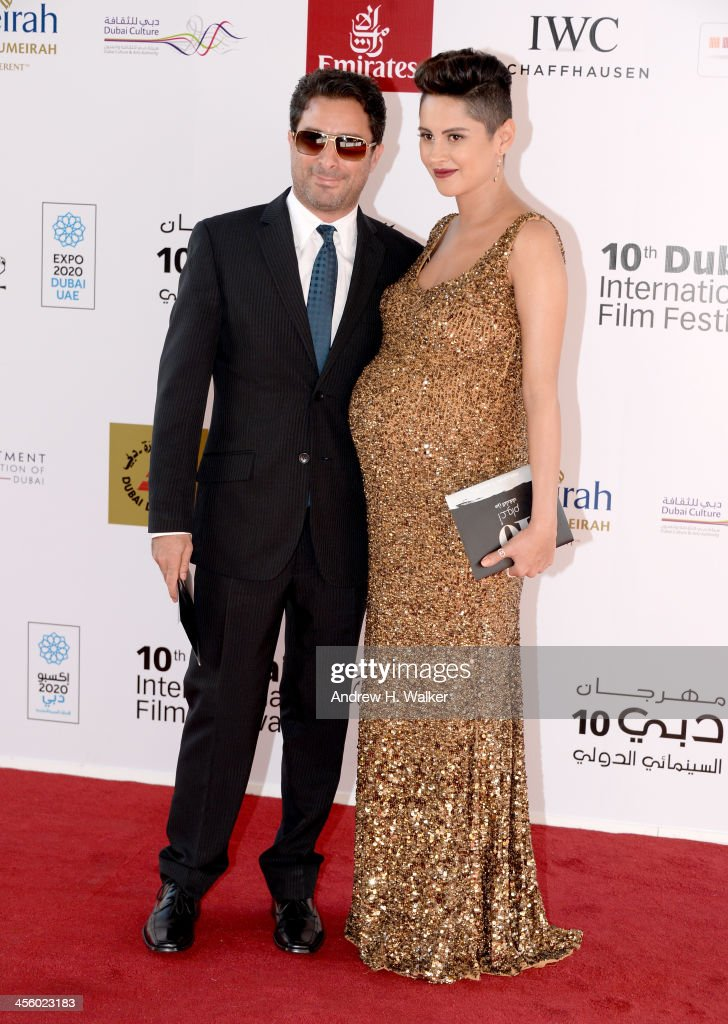 Actress Yasmin Raes attends the Closing Ceremony and Muhr Awards during day eight of the 10th Annual Dubai International Film Festival held at the Madinat Jumeriah Complex on December 13, 2013 in Dubai, United Arab Emirates.