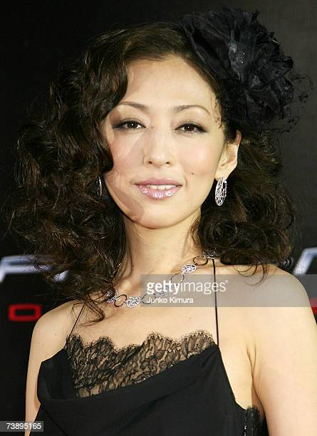 Actress Yasuko Matsuyuki attends the World Premiere of 'SpiderMan 3' at the Roppongi Hills Mori Tower on April 16 2007 in Tokyo JapanThe film opens...