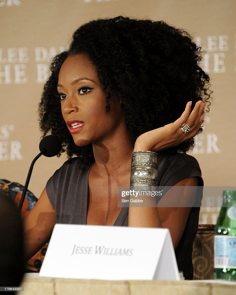 Actress Yaya Alafia attends the press conference for The Weinstein Company's LEE DANIELS' THE BUTLER at Waldorf Astoria Hotel on August 5, 2013 in New York City.