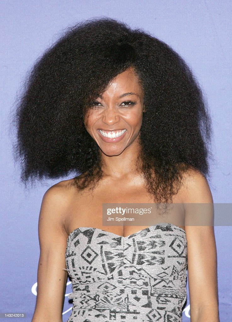 Actress Yaya DaCosta attends the premiere of 'Whole Lotta Sole' during the 2012 Tribeca Film Festival at BMCC Tribeca PAC on April 21, 2012 in New York City.