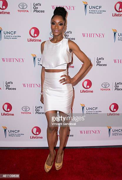 Actress Yaya DaCosta attends the world premiere of Lifetime's 'Whitney' at The Paley Center for Media on January 6 2015 in Beverly Hills California
