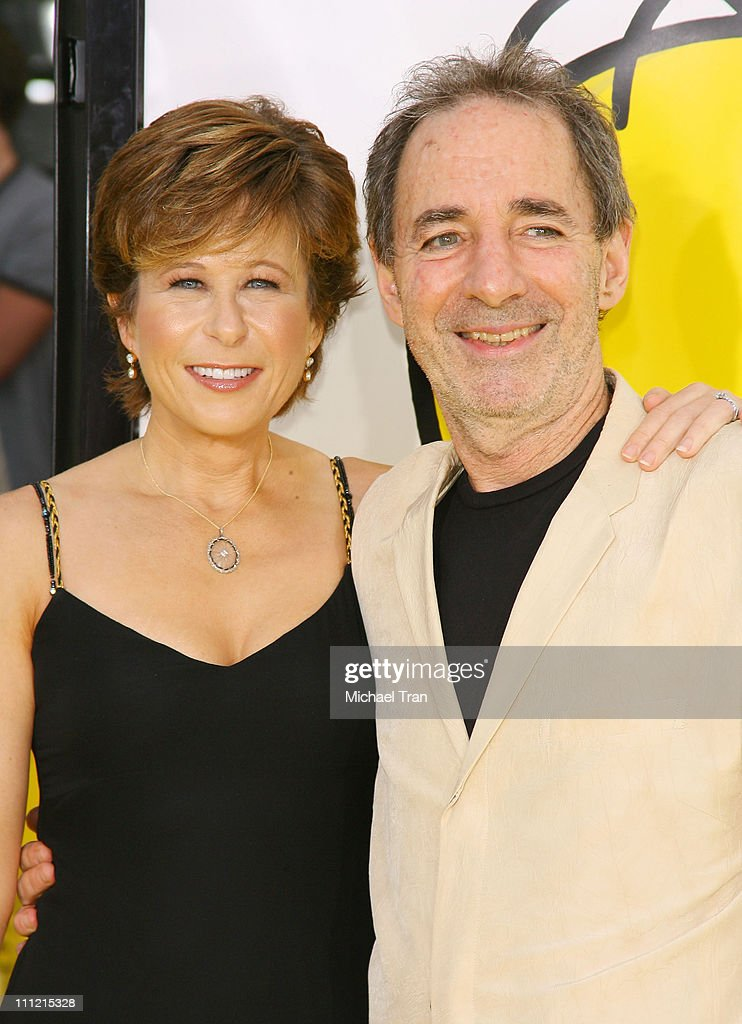 Actress Yeardley Smith and Actor Harry Shearer arrives at 'The Simpsons Movie' World Premiere at The Mann Bruin and The Mann Village Theaters on July...