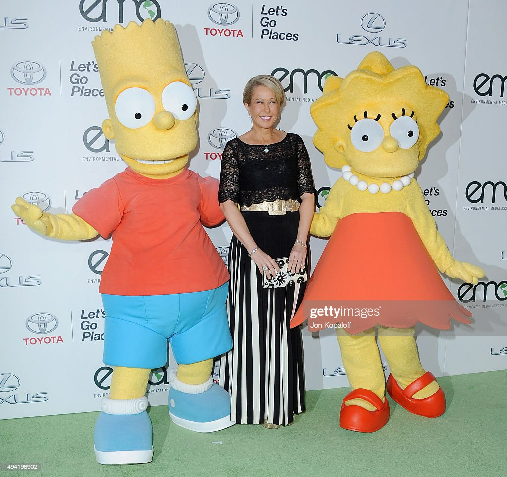 Actress Yeardley Smith arrives at Environmental Media Association Hosts Its 25th Annual EMA Awards Presented By Toyota And Lexus at Warner Bros...