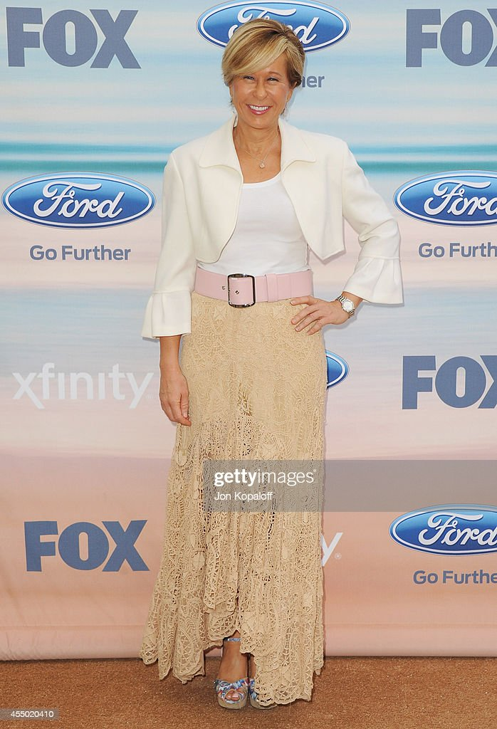 Actress Yeardley Smith arrives at the 2014 FOX Fall EcoCasino Party at The Bungalow on September 8 2014 in Santa Monica California