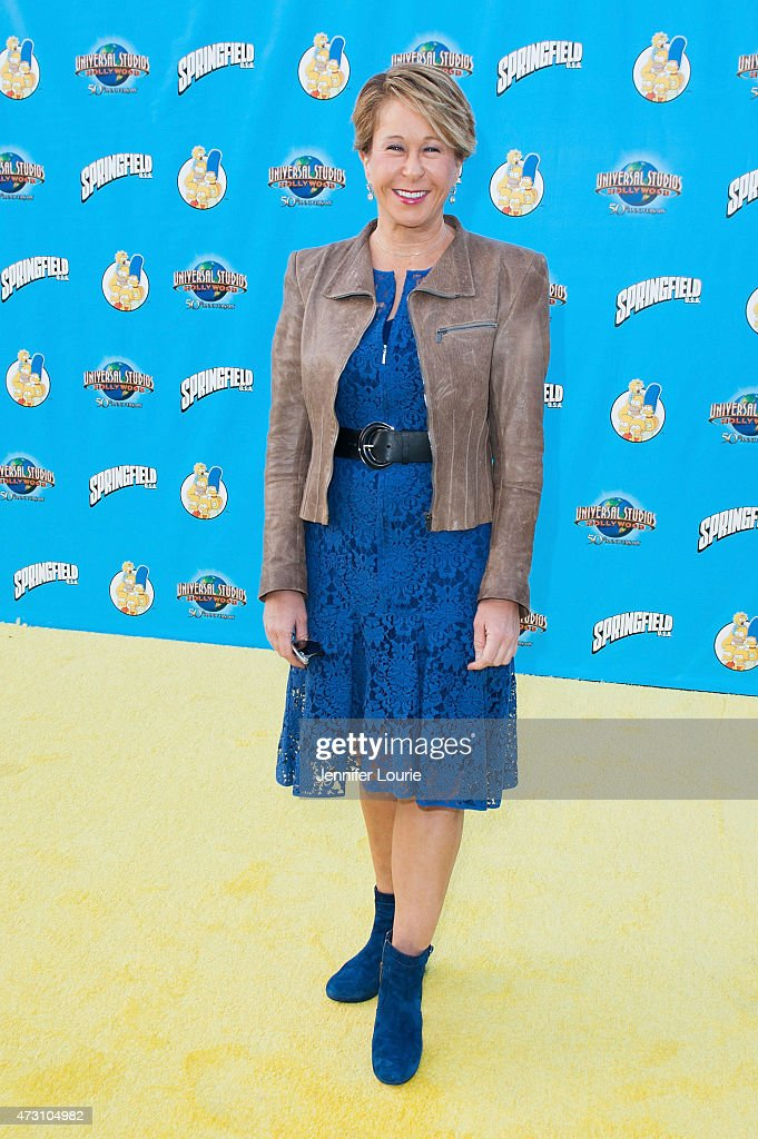 Actress Yeardley Smith arrives at the 'Taste Of Springfield' press event at Universal Studios Hollywood on May 12 2015 in Universal City California
