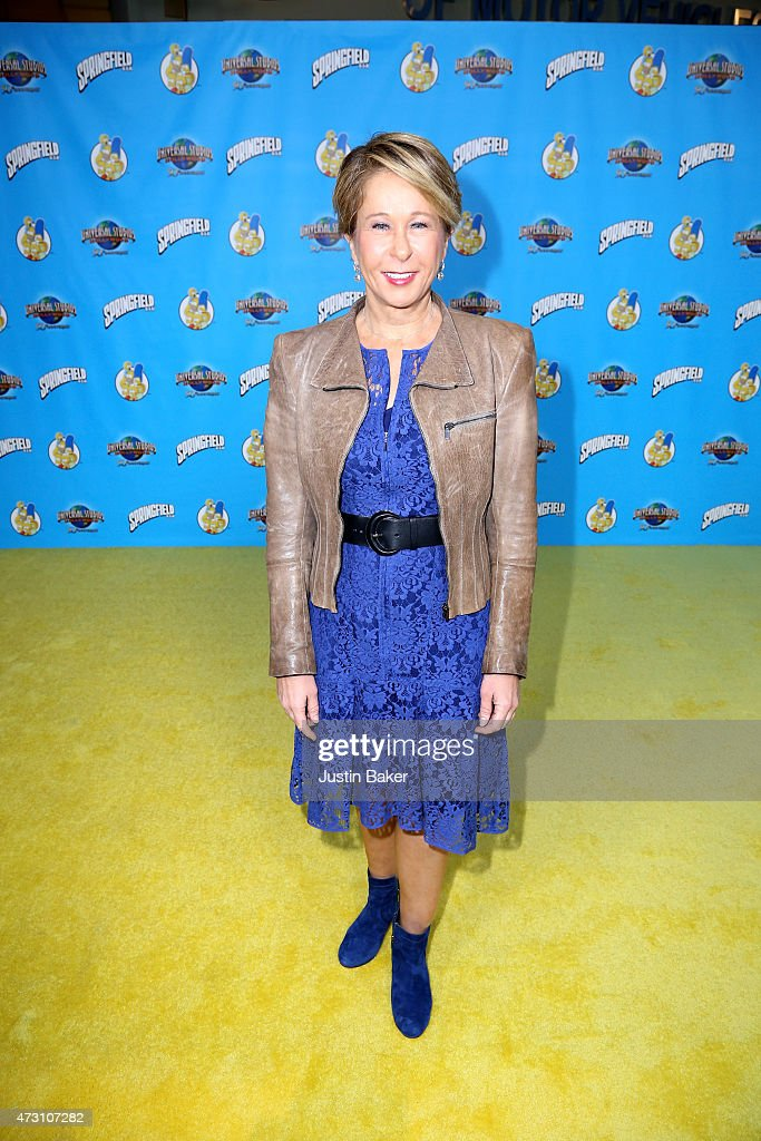 Actress Yeardley Smith attends the 'Taste Of Springfield' press event at Universal Studios Hollywood on May 12 2015 in Universal City California