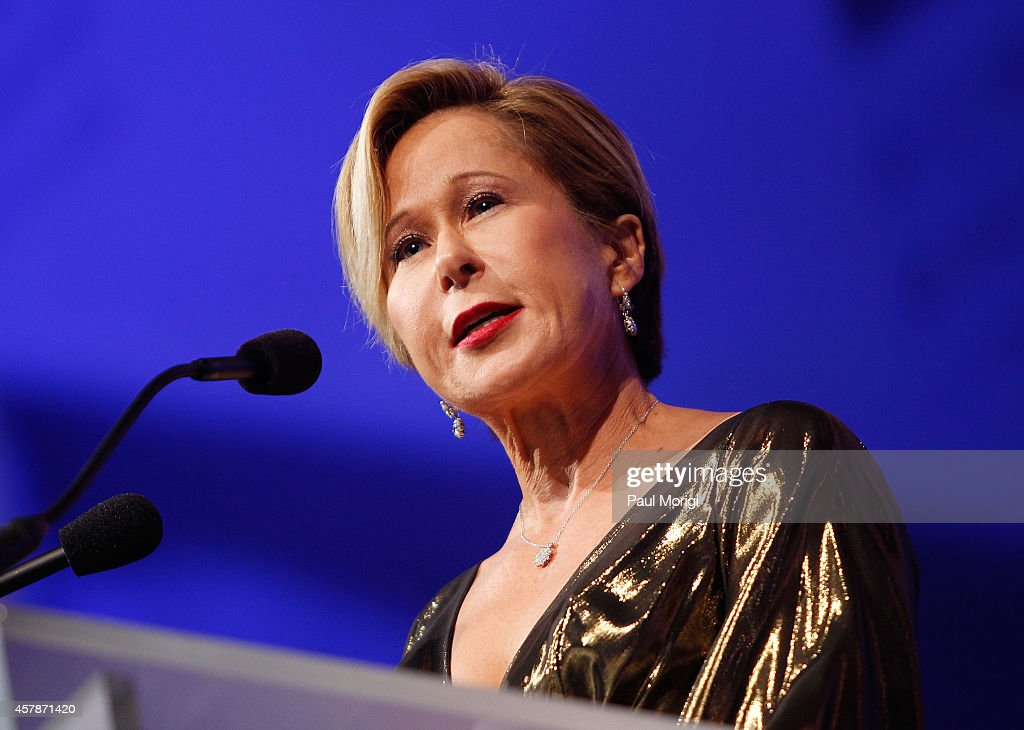 Actress Yeardley Smith speaks at the 18th Annual HRC National Dinner at The Walter E Washington Convention Center on October 25 2014 in Washington DC